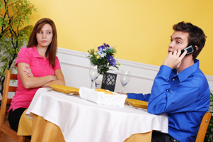 man-cell-phone-date
